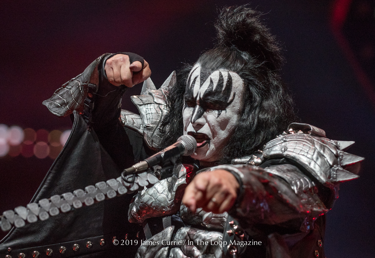 Chicago See's The 'End Of The Road' For KISS As The Rock n Roll Legends Light Up United Center One More Time