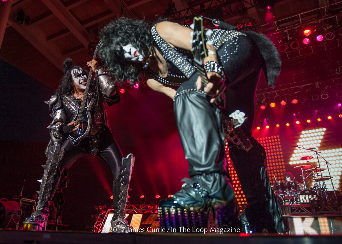 KISS Rock and Roll All Nite At RiverEdge Park Staving Off Impending God Of Thunder Storms