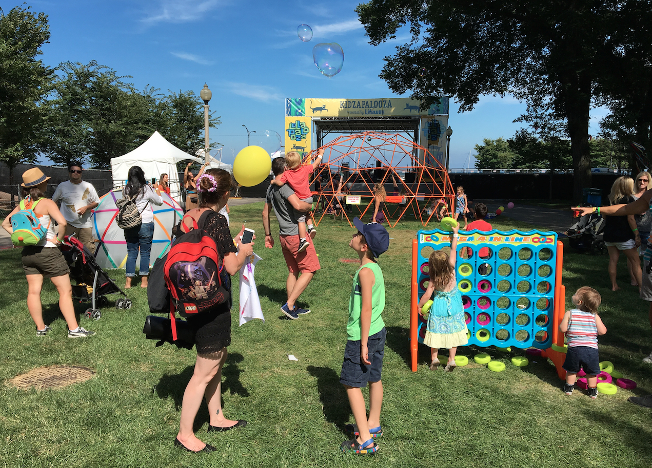 Kidzapalooza! Where The Little Ones Gather To Rock Out At Lollapalooza