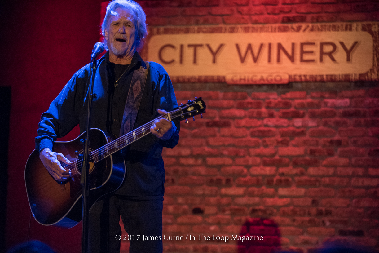 A Man, A Guitar And A Lifetime of Songs: Kris Kristofferson Live At City Winery