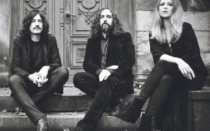 Interview with Johanna Sadonis (vocals) and Dino Gollnick (bass) of LUCIFER