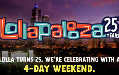 Lollapalooza 2016 Extends Annual Weekend Festival To 4 Days!