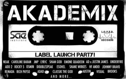 SAE Students to Release Akademix Compilation to Raise Funds and Awareness for Charity