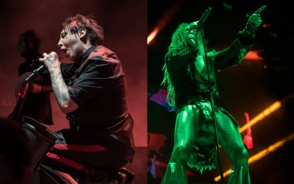 Summertime, and the living is…evil. The Twins Of Evil Tour Bring's Rob Zombie And Marilyn Manson Together Again