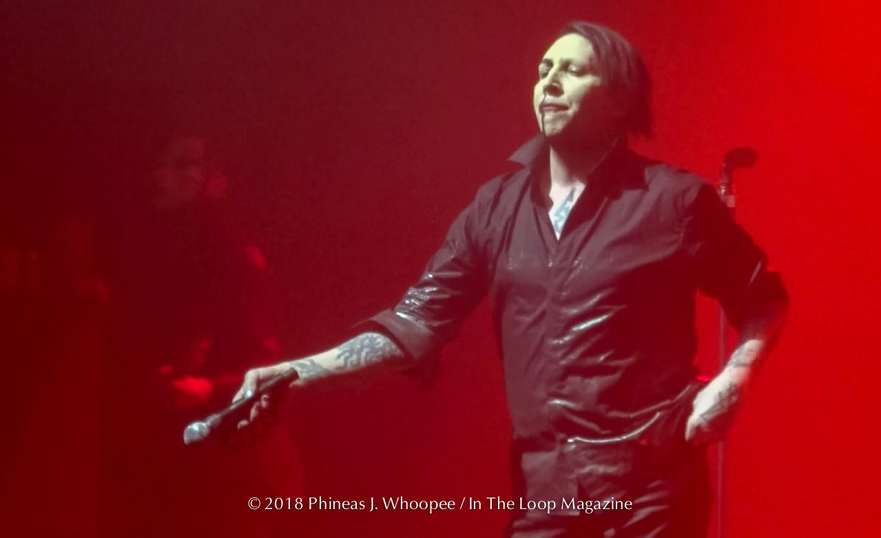 The Return of Marilyn Manson To Chicago After Fall Cancellation, Brings Sold Out Show To Riviera Theatre