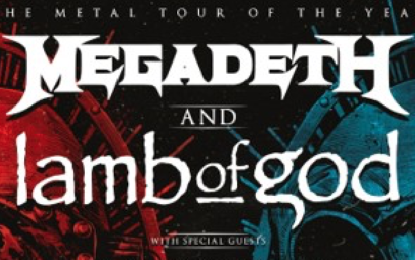 Megadeth and Lamb Of God Announce Massive 2020 Co-Headline Tour Across North America Presented by SiriusXM