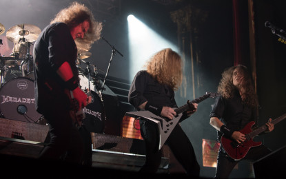 Megadeth At Tipping Point Of Big Four Legacy Play To Packed House At Chicago's Aragon Ballroom