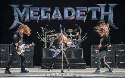 Megadeth @ COA 2017