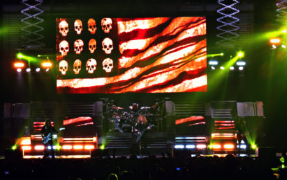 Megadeth Dystopia World Tour @ iWireless Center (Moline)