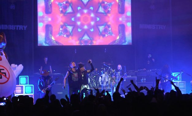 Ministry Play Raucous Home Town Show At The Riviera In Chicago With Special Guest Reunion With Chris Connelly