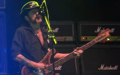 Motörhead Bring The Noise And Destroy The Stage At Riot Fest Chicago
