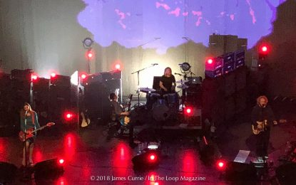 Bringing Their Sonic Psychedelia To Chicago, My Bloody Valentine Throw Riviera Fans Into A Swirl Of Emotions