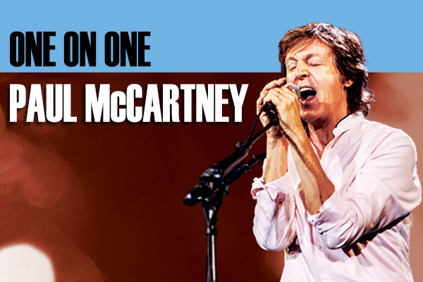 Paul McCartney: 'One On One; US Tour Hits Chicagoland In July