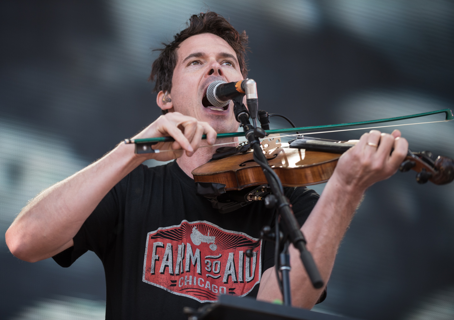 Photo Gallery : Old Crow Medicine Show @ Farm Aid 2015