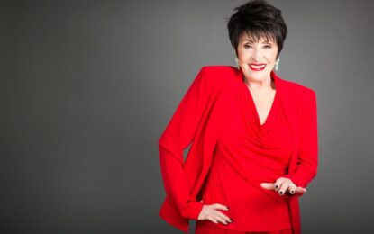 LEGENDARY ACTRESS, SINGER, DANCER CHITA RIVERA AND THE BAYLESS FAMILY FOUNDATION TO BEHONORED AT PORCHLIGHT MUSIC THEATRE'S 26TH ANNIVERSARY ICONS GALA