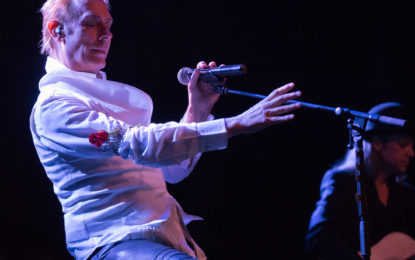 Peter Murphy Plays Intimate Stripped Down Show At Thalia Hall
