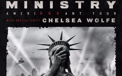 Ministry Release Advance Single, Announce New Album and US Tour For 2018 With Stops In Chicago