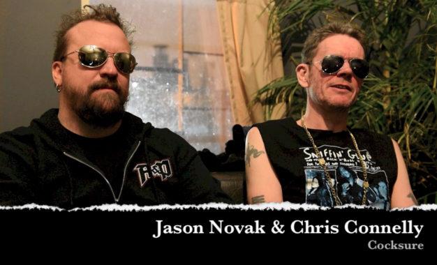Interview: Cocksure (Chris Connelly & Jason Novak) at Cobra Lounge
