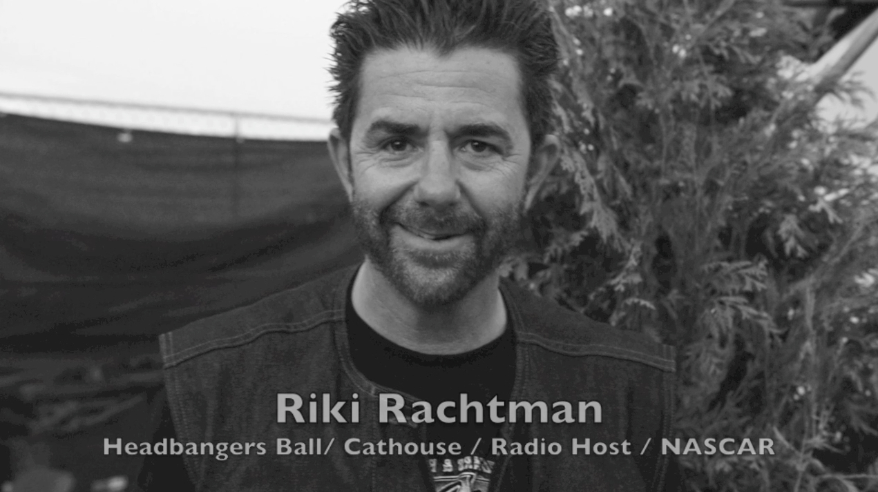 Interview : Riki Rachtman of Headbangers Ball Fame