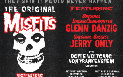 Original Misfits To Reunite For Chicago Show @ Riot Fest