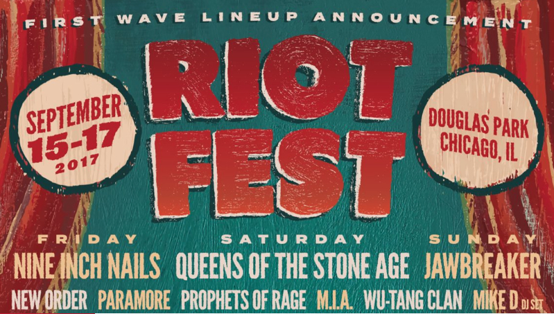 Riot Fest Returns And Release First Wave LineUp That Is A Solid Hit On Its Own