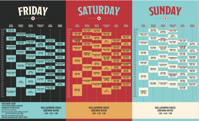 Riot Fest Release Daily Time Schedules For 2016 Lineup