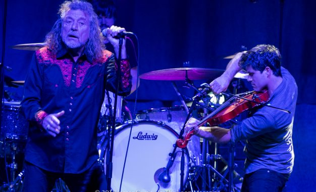 Robert Plant and Sensational Space Shifters Play To Sold Out Northside Club, The Riviera Theatre