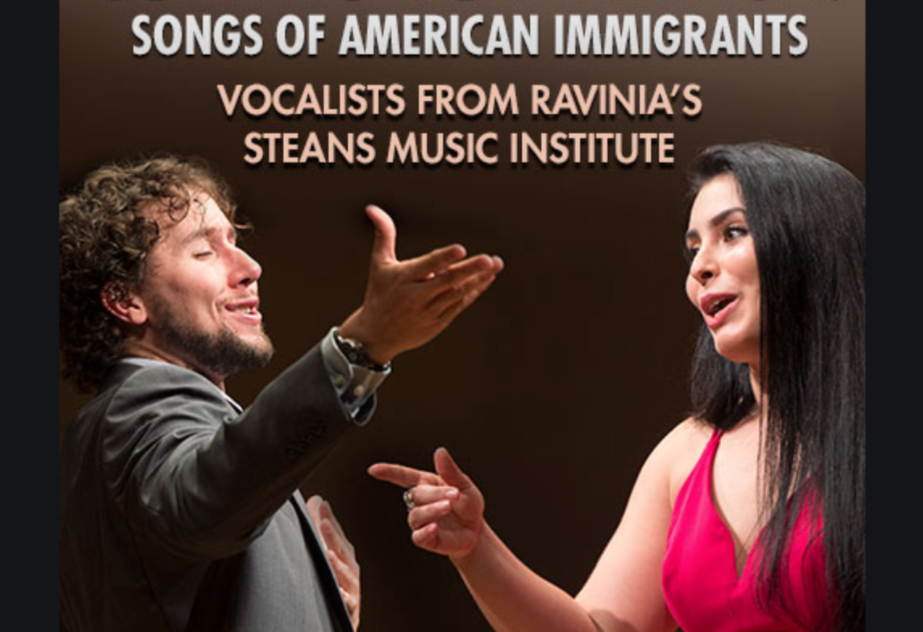 "Ravinia Presents ""Coming to America: Songs of American Immigrants"""