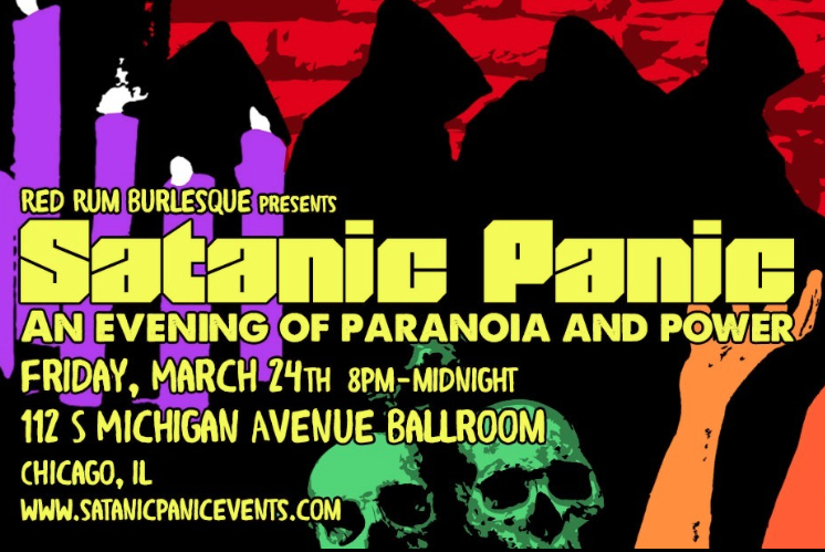 Satanic Panic: A Burlesque Evening Of Paranoia And Power