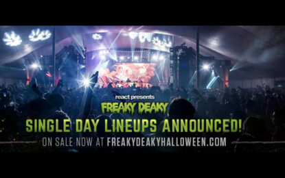 Halloween Themed Music Festival, Freaky Deaky, Announce 2016 Lineup