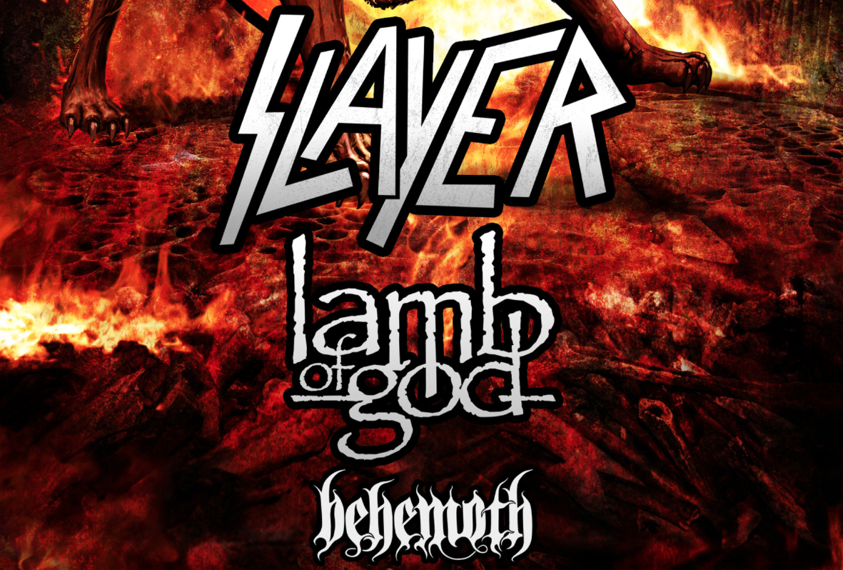 SLAYER…LAMB OF GOD…BEHEMOTH… Spreading The Apocalypse This Summer