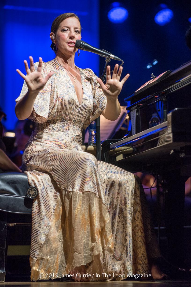 Sarah McLachlan Ravinia Festival Highland Park 2019 Tour Final Show 08-12-19-30