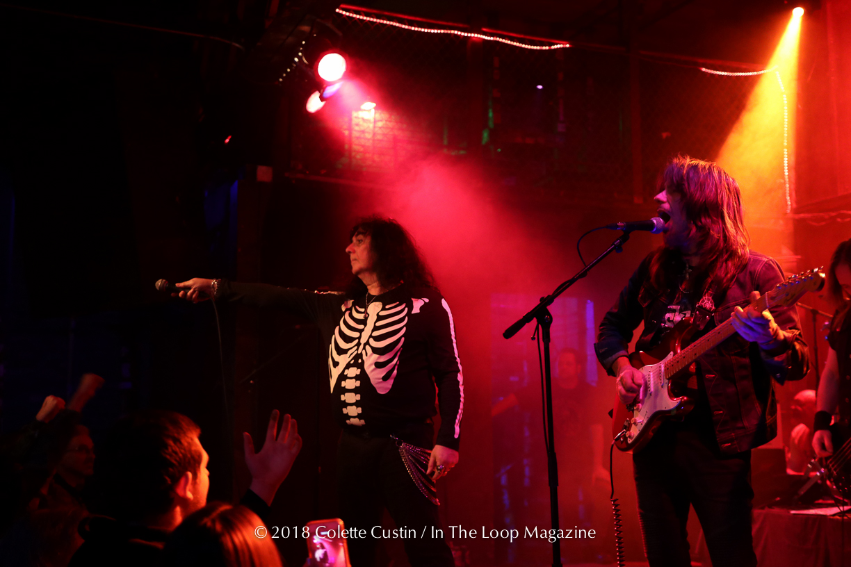British Heavy Metal Legends Satan Return With Fierce Set At Reggies Rock Club