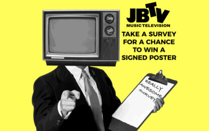 Help JBTV! Take A Survey For A Chance To Win And Help JBTV Stay On Air