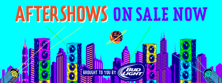 Official Lollapalooza Aftershows On Sale NOW!