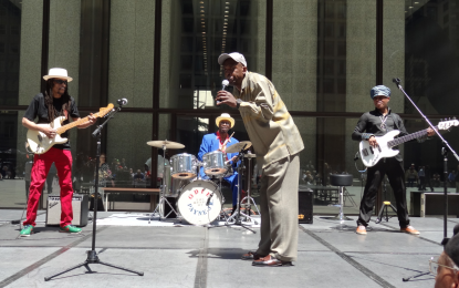Chicago Blues Fest preview day in Daley Plaza