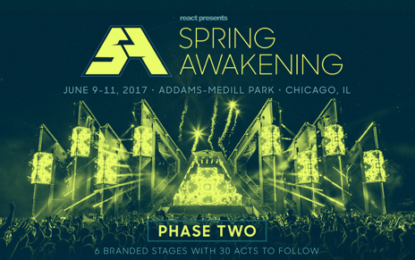 Spring Awakening Announces Phase 2 Lineup for 2017