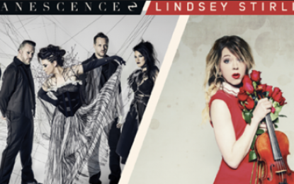 Grammy Award–Winning Rock Band Evanescence and Acclaimed Billboard Award–winning Electronic Violinist, Lindsey Stirling To Make Ravinia Debuts This Summer