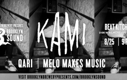 Brooklyn Sound Presents KAMI, Qari & Melo Makes Music at Beat Kitchen