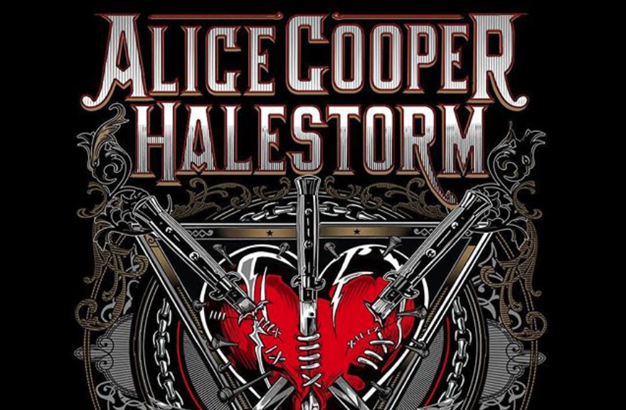 Alice Cooper & Halestorm with special guest Motionless In White at Hollywood Casino Amphitheatre