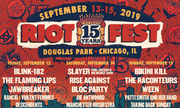 Riot Fest Single-Day Lineups Announced + Tickets On Sale Now