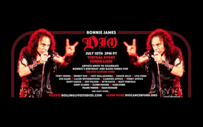 Star-Studded Lineup for July 10 'Stand Up and Shout for Ronnie James Dio's Birthday' Global Virtual Concert/Fundraiser Benefiting