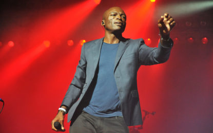 Photo Gallery: Seal live at Ravinia