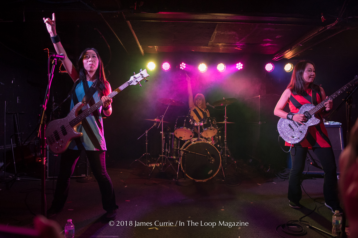 Pop Punk Legends From Osaka Japan, Shonen Knife, Return To Chicago And Play To Rabid Fans At SubT