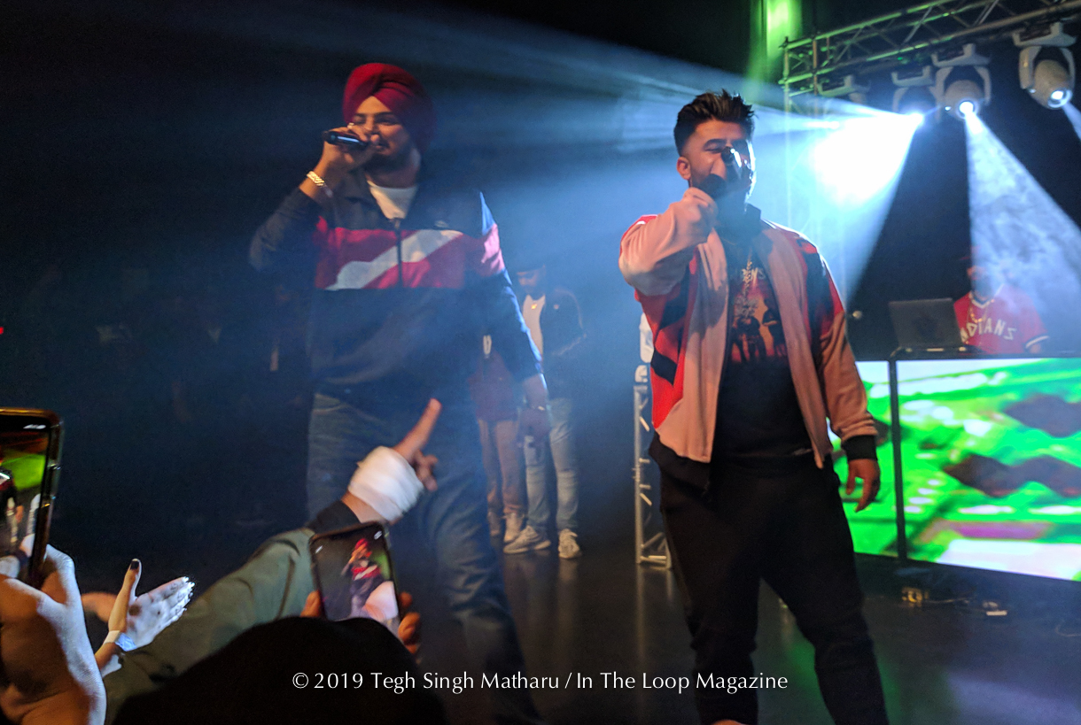 Sidhu Moosewala, Sunny Malton and Byg Byrd Appear at Park West in Brown Boys Tour