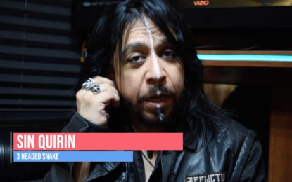 ITLM Exclusive! Interview: Sin Quirin (Ministry / Lords of Acid) Talks About His New Band, 3 Headed Snake – Teaser Trailer Aug 2019