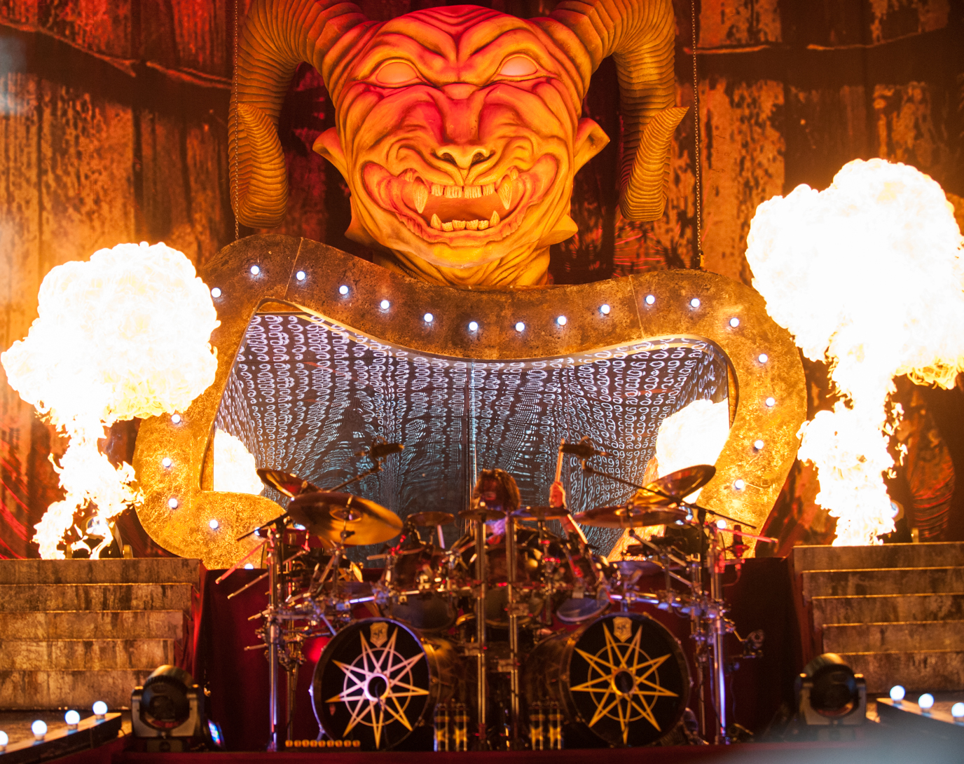 Photo Gallery : Slipknot @ Hollywood Casino Amphitheatre