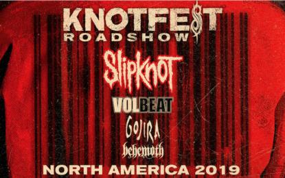 Slipknot ANNOUNCE KNOTFEST ROADSHOW NORTH AMERICA 2019