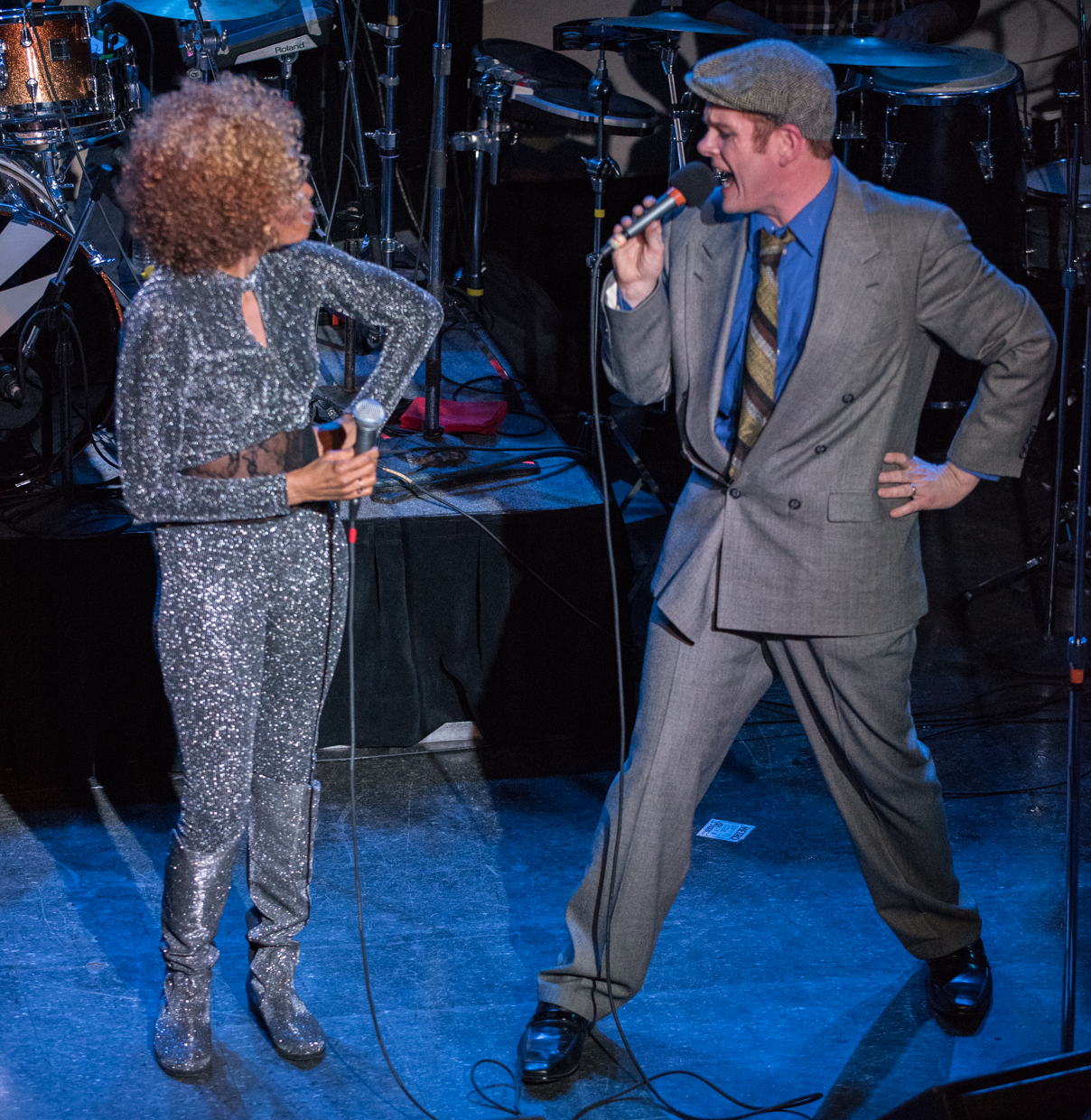 Photo Gallery : Sons of the Silent Age (David Bowie Tribute Cancer Research Benefit) @ Metro