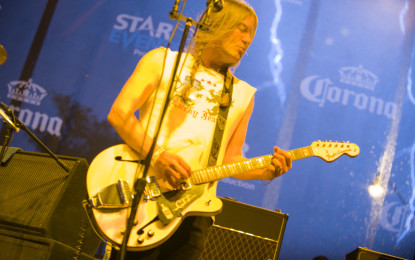 The Dandy Warhols Try Riding The Storm Out at Taste of Randolph Festival